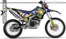 YAMAHA WR250R WR250X ALL YEARS MAXCROSS GRAPHICS KIT DECALS STICKERS FULL KIT-7