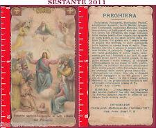2160 SANTINO HOLY CARD SOLENNE COMMEMORAZIONE DI TUTTI I SANTI MEDIOLANI
