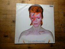 David Bowie Aladdin Sane Very Good Vinyl LP Record INTS 5067 Green Label Reissue