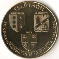 Monnaie de Paris - BONDY TELETHON 2019 - AUBERVILLIERS - PANTIN - LA COURNEUVE