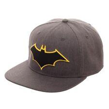 DC Batman Logo Flatbill Flex Cap