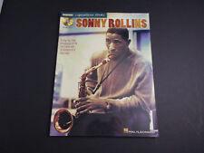 * Sonny Rollins Saxophone Signature Licks -Songbook-With cd hal leonard