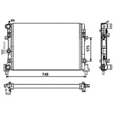 Kühler Motorkühlung - NRF 53024