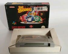 Snes The Brainies Puzzle Game For Super Nintendo  1994 Rare