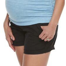 0fd3e8c4284a4 Black Maternity Shorts Size 16 a Glow Chino Bottoms Kohls XL 16 X Large