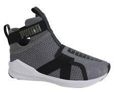 6ef1e3b3999 PUMA Fierce Strap Wns Grey Black Women Cross Training Shoes Trainers  189463-01 UK 5