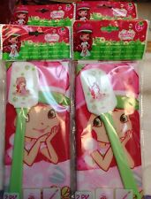 strawberry shortcake Apron And Silicone Spatula Baking Set NIP
