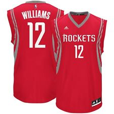 66bd1adbb1c7 Genuine Lou Williams Houston Rockets adidas Road NBA Jersey S - Red