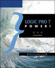 Logic Pro 7 Power!, Orren Merton, New Book