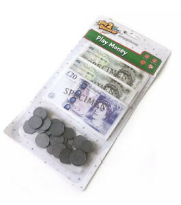 ✅KIDS PLAY MONEY Learning UK KS1 Maths Resource Numeracy £ Pound Notes Coins✅