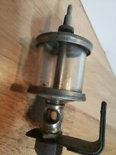 Vintage Nathan #807 Oiler Hit Miss Gas Engine Antique Steampunk Nickel