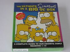 The Ultimate Simpsons in a Big Ol' Box: A Complete Guide... NIB Factory Sealed