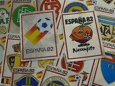 Panini españa 82 equipo insignias (ex álbum-sin espalda original)