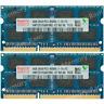 Hynix 8GB KIT 2X4GB PC3-8500S DDR3-1066Mhz 204Pin SO-DIMM Laptop Memory Ram