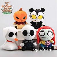The Nightmare Before Christmas Jack Skellington Sally Vampire Plush Doll Toy NWT