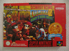 -= Jeux Super Nintendo SNES = Donkey Kong Country 2 Classic / BE / PAL - NFAH