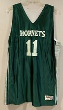 Hornets #11 Reversible Basketball Jersey Green White Size Xxl Eastbay Tanktop