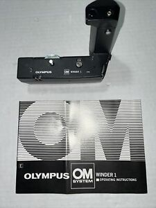 Price Reduced Olympus-OM System Winder 1 with Instructional Manual MINT!