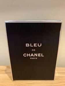 Bleu de CHANEL pour homme 100 edt - New & Sealed
