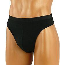Angelo Litrico Männer String Grösse 2XL schwarz Bodywear Herren Unterwäsche