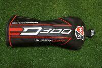 New Wilson Golf D300 Superlight 5 Fairway Wood Headcover Head Cover