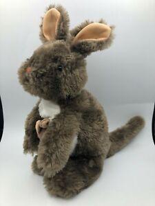 Wild Republic Hug'ems Kangaroo With Joey Plush Kids Soft Stuffed Toy Animal