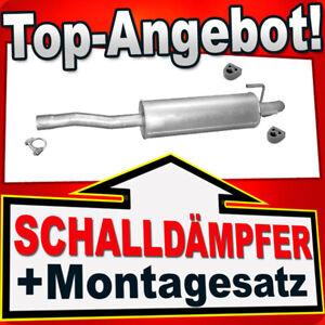 Auspuff für Mercedes Sprinter II 2.2 3.0 D W906 ab 06//2006 Endschalldämpfer D593