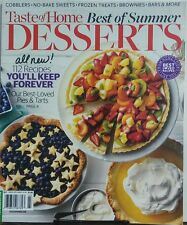 Taste of Home Best of Summer Desserts 2017 112 Recipes Pies FREE SHIPPING sb