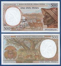 CENTRAL AFRICAN STATES / GABON 500 Francs UNC P.401L