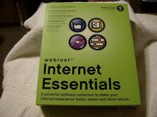 VINTAGE Webroot Software Internet Essentials 2002 / BRAND NEW / FACTORY SEALED
