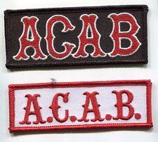 CAFÉ RACER ROCKERS TON-UP BOYS 59 OUTLAW BIKER PATCH COLLECTION: A.C.A.B. c