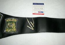Vince McMahon Signed WWE Championship Toy Belt PSA/DNA V51798
