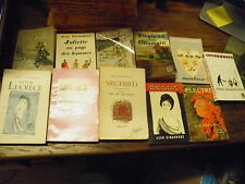 Jean Giraudoux Lot de 11 livres Bella Intermezzo Electre