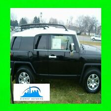 FOR TOYOTA FJ CRUISER 2007-2012 CHROME WINDOW TRIM MOLDINGS 2008 2009 2010 2012