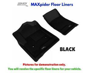 3D Maxpider Kagu Floor Mats Liners All Weather For Mercedes Glk-Class 2009-2012