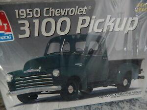 VINTAGE AMT/ ERTL 1950 CHEVY 3100 PICKUP TRUCK SEALED BOX KIT .