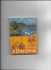 Sunflower Kefalonia Walking Guide & Topo Map.  Incl Ithaka.  Used, V Good Cond.
