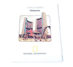National Geographic Close-Up Canada Ontario Vintage 1978 G761