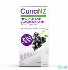 CurraNZ Natural New Zealand Blackcurrant Extract 30 Capsules