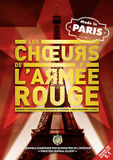 LES CHOEURS DE L ARMEE ROUGE - DVD - MADE IN PARIS