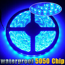5M/16.4ft 5050 SMD 300 LED Flexible Strip Light IP67 Waterproof 12V Multi Colors