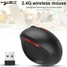 Wireless Mouse Ergonomics Office Game Vertical Comfortable Mouse for HXSJ T33 2.