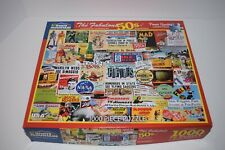 White Mountain - The Fabulous 50's - 1000 Piece Jigsaw Puzzle #1281