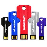 4/8/16/32/64GB Ultra-thin Key Shaped USB 3.0 Flash Drive Memory Stick U Disk Cod