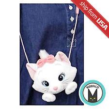 Japan Disney Aristocats Marie Cat Pochette Plush Coin Purse Soft Wallet Bag Cute
