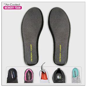 Memory-Foam Shoe-Insoles Inserts-Replacement Inner-Soles Men-Sizes - Flat Feet