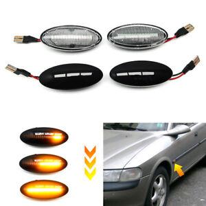 LED Dynamic Side Fender Marker Light Lamp For Vauxhall / Opel Vectra B 1995-2002