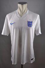 England Trikot Gr. L Nike Jersey 2014 Home weiß 3 Lions WM Dri-Fit
