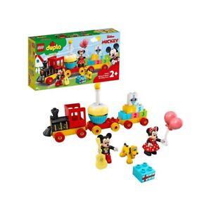 Set Lego Duplo Il Treno del Compleanno di Topolino e Minnie, 2+