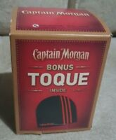 New in the Box CAPTAIN MORGAN's Rum Touque  Beenie  Hat FREE SHIPPING CAN USA